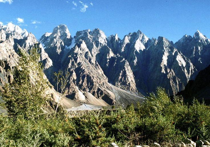 Karakorum - Vallée de Hunza / Pakistan - jcp 1992