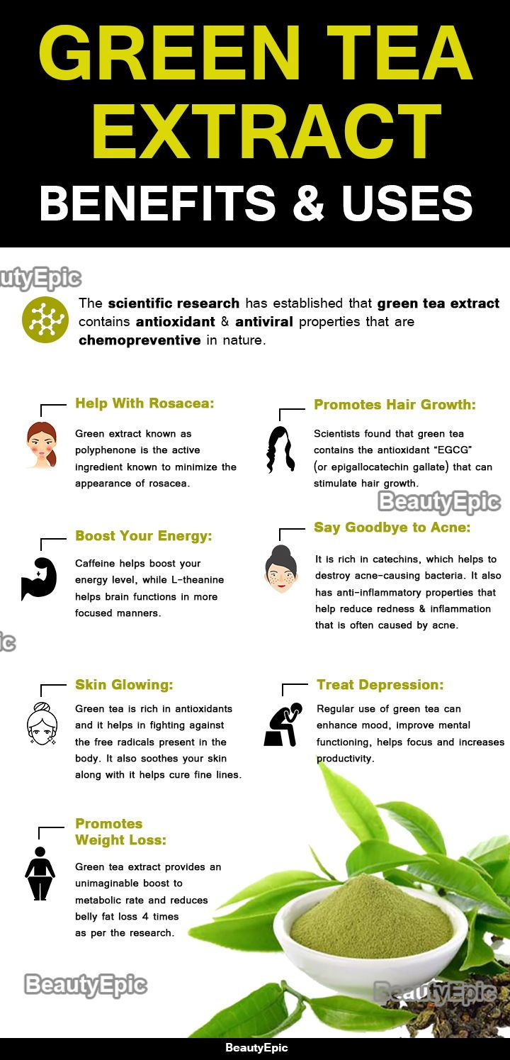 what are the benefits of green tea supplements