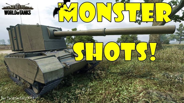 World of Tanks - Funny Moments | MONSTER SHOTS! #3 (Get derped!)