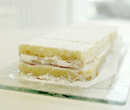 Lemon Bars, from Toronto's Dufflet Rosenberg....I love the tang of lemon in dessert