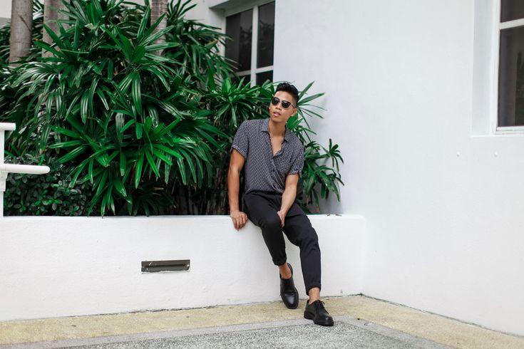 SHOP THE LOOK: Topman (Similar) Shirt // AllSaints Trousers // Dr. Martens Shoes // Persol Sunglasses