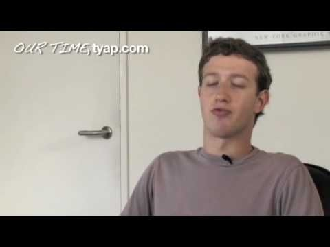 Facebook Founder Mark Zuckerberg Interview. He talks about the humble beginnings of Facebook, how it was founded on an $ 85 server and a dummies handbook.