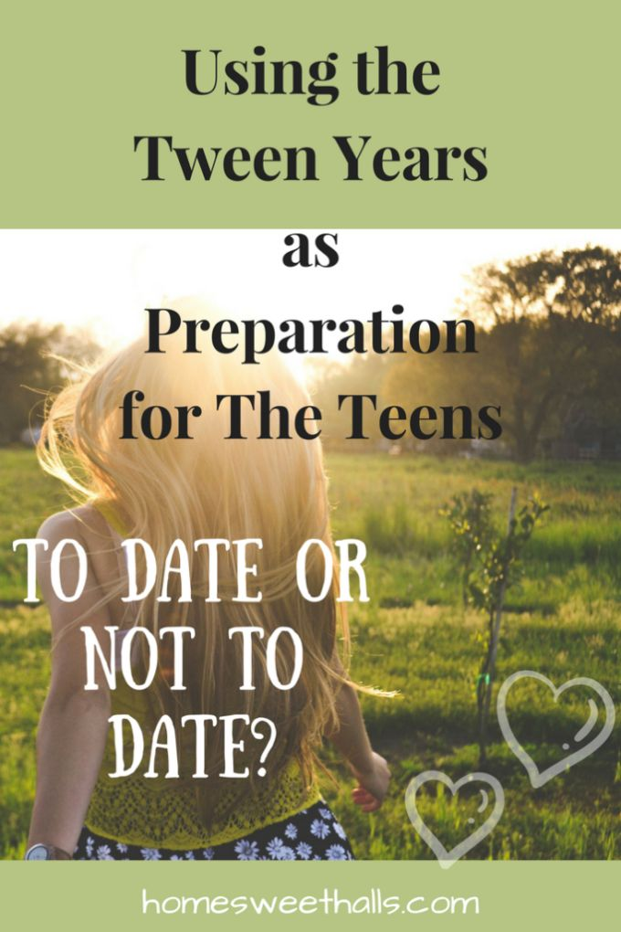 Are the tween-age years too young to think about our children and dating?The tweens are actually the perfect time to put a plan in place for the future!