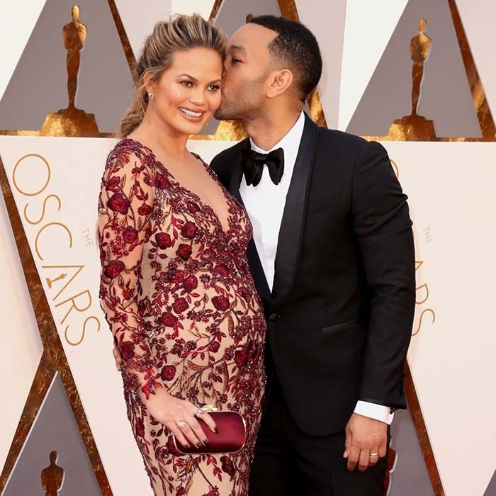 Parents-to-be Chrissy Teigen and John Legend.