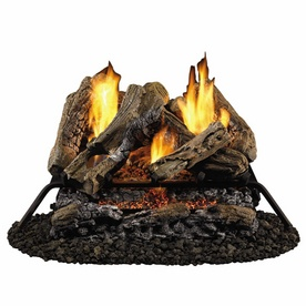 Gas Logs 329 24 39 From Lowes Style Selections 24 Vent Free Gas Logs With Glowing Ember Bed