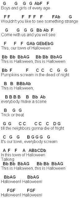 Flute Sheet Music: This Is Halloween