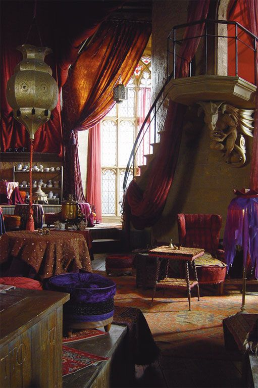 Divination room from Harry Potter. Pretty much I want to work at Hogwarts for Women's Spirituality and Mysteries.