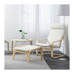 IKEA - POÄNG, Chair, Finnsta white