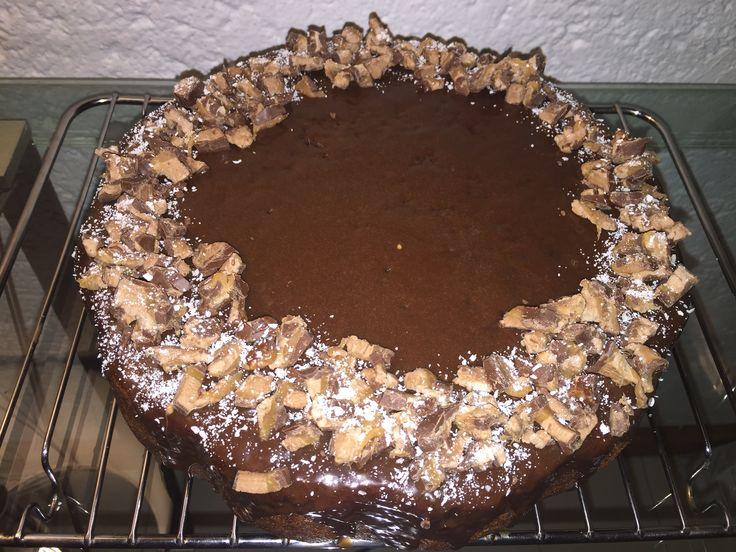 Bar one chocolate cake!