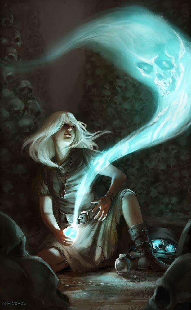 The Ghost Thief by kimsokol.deviantart.com on @deviantART