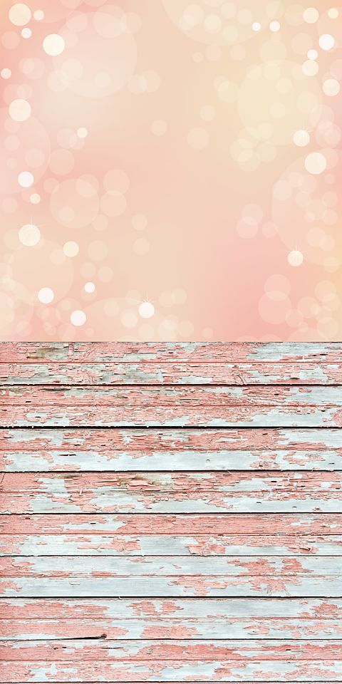 Bokeh And Pink Wood Backdrop