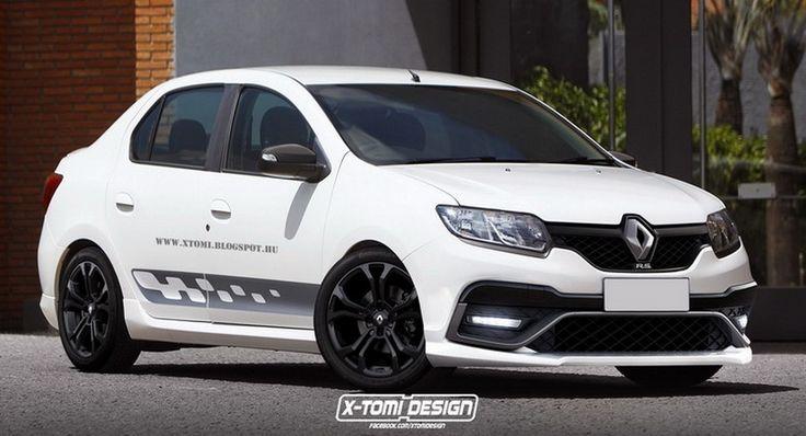 Después del Renault Sandero RS, ¿qué tal un Logan RS? - http://www.actualidadmotor.com/renault-logan-rs-un-render-por-x-tomi-design/
