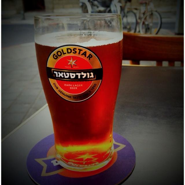 Goldstar, best israeli beer.