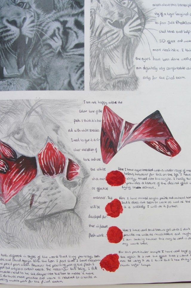 Movement Sketchbook - GCSE Art and Design