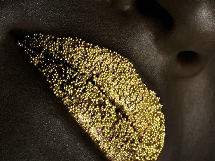 Yellow Glitter - lips Wallpaper | Fashion show | Pinterest