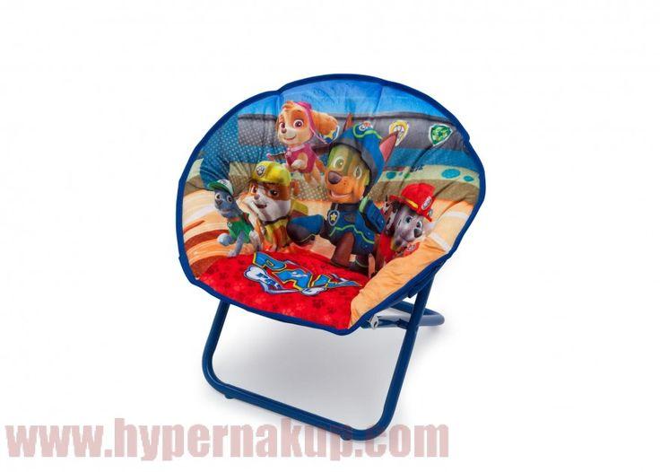 Detská rozkladacia stolička PAW PATROL vyrobená v originálnej licencii Nikelodeon je určená pre všetky deti, ktoré milujú túto rozprávku. Je skvelým doplnkom do izbičky. Príjemné mäkučké polstrované plyšové sedátko. Stolička je vhodná pre každodenné využívanie na relax alebo sledovanie TV.Konštrukcia stoličky umožňuje jednoduché zloženie a rozloženie čím nie je problém stoličku zobrať na cesty dovolenku alebo ku starej mame :)Špecifikáciedĺžka: 20.25 cmšírka: 44.45 cmvýška: 46.35 cmUrčené…