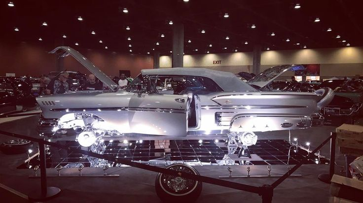 #Clean!  I haven't been to a Lowrider Car Show in years. Come down to the Lowrider car show today at the Phx Convention Center in downtown Phoenix from 11 am to 8 pm....we have Latina Still Standing tank tops...stop by! Thx Annette Escalante for your support!#lowridercarshow #tanktops