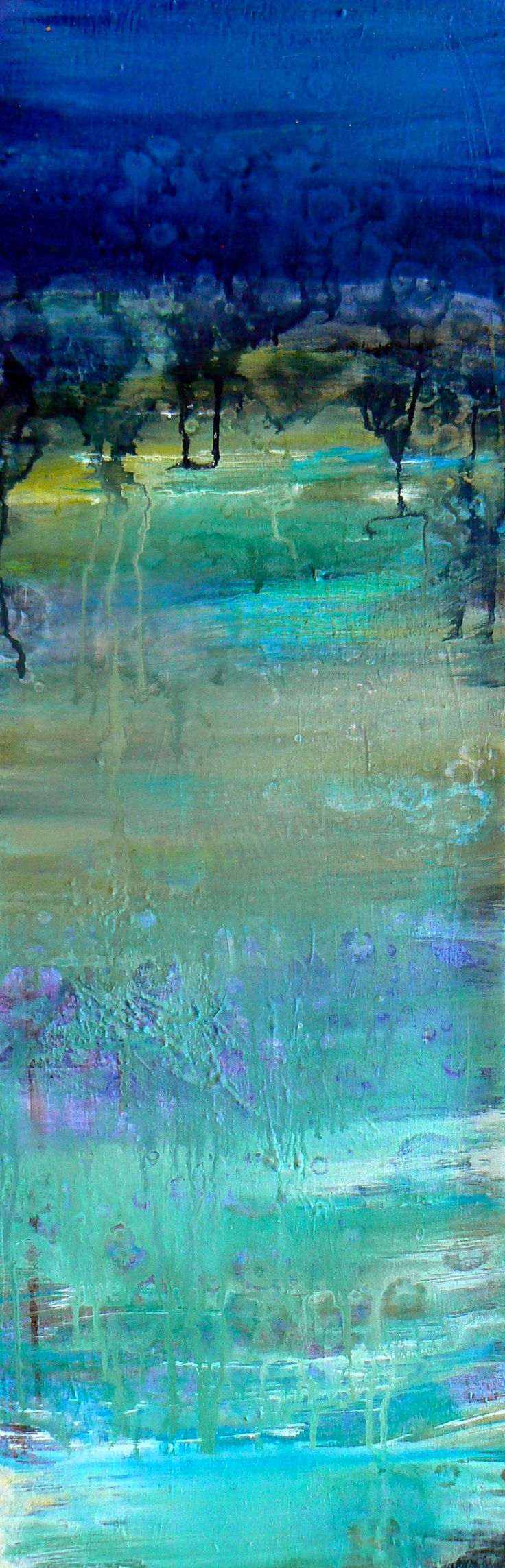 painting in teal blue, turquoise & green - ©Amy Longcope - www.amylongcope.com/thumbnail_list.php?mgd_id=18496#.UKroLeRY6So