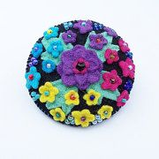 CHERRYPIPS Unique Felt Brooches Gifts & Art Cards by CherryPips