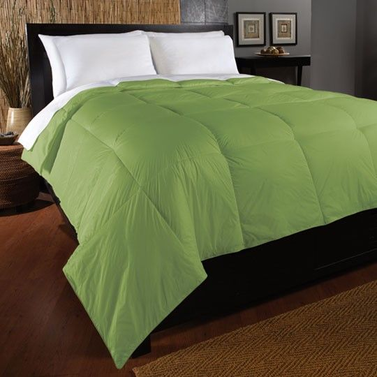 ultra light nylon green comforter