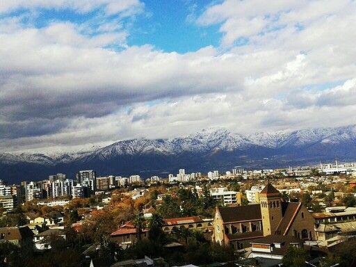 Vista desde un piso 11, Santiago de Chile 2014