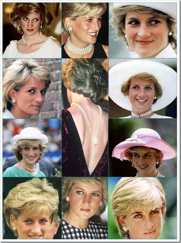 Diana Spencer. Pearls played a large role in Princess Diana's jewelry wardrobe