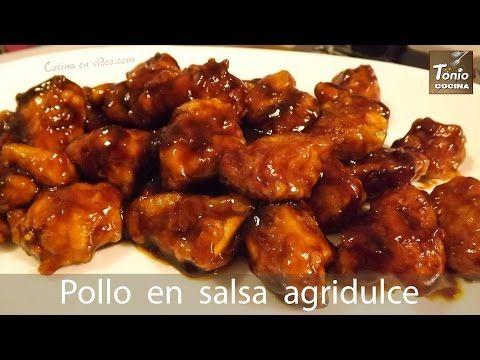 POLLO en SALSA AGRIDULCE, fácil y rico | Sin gluten | Receta Navidad | Tonio Cocina 198 - YouTube