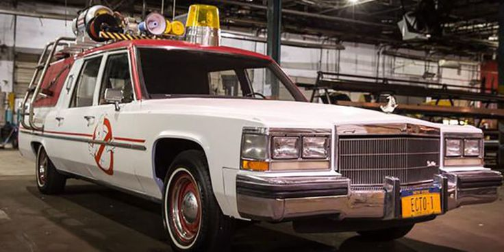 New Ghostbusters Car Tweeted by Paul Feig