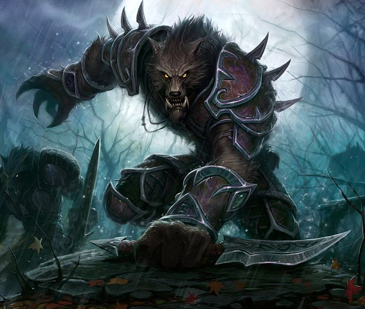 World of Warcraft: Worgen c: