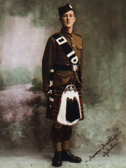 Malcolm Roderick MacCrimmon 1942. Ninth Hereditary Piper to Clan MacLeod. Born Dec 21, 1918 At the outbreak of WWII, a young Malcolm Roderick MacCrimmon of Edmonton signed up with the Calgary Highlanders. His Uncle Art had told young Malcolm of the great pipers who had gone before him. A piper since the age of eight, Malcolm was immediately made a member of the pipe band. George Poulter, a student of the MacCrimmon history and member of the Clan MacCrimmon Society of London lived in Surrey…