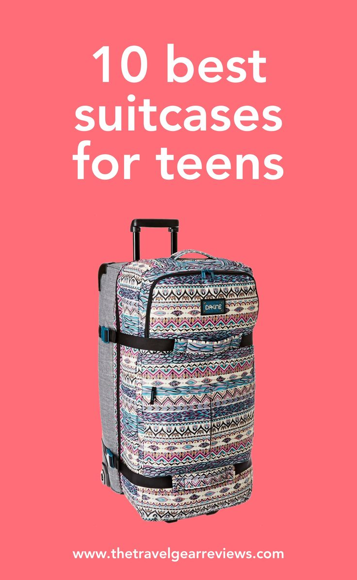 10 best suitcases for teents