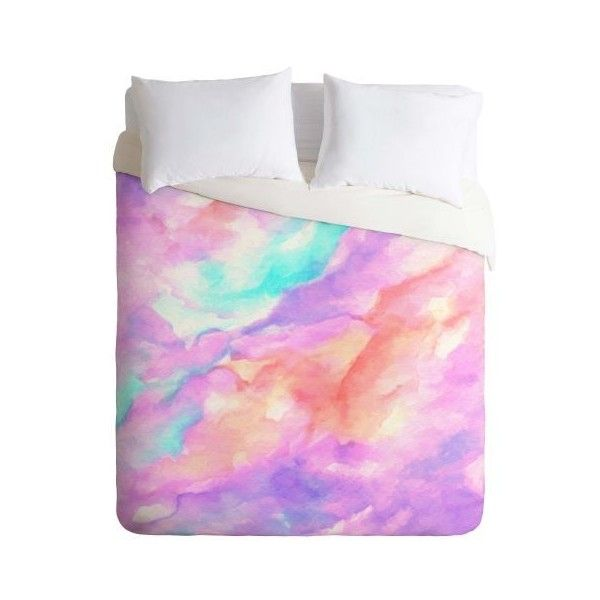 Deny Designs Lavender Haze Bedding Rosie Brown Duvet Cover King Home ($179) ❤ liked on Polyvore featuring home, bed & bath, bedding, duvet covers, home decor, twin, light purple bedding, lilac bedding, brown duvet and king duvet