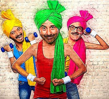 <i>Poster Boys</i> review: Low-IQ comedyShreyas Talpade's film, co-starring the Deol brothers, never adds up to anything beyond a shrill or overdone caricature straight out of a dummy's guide in how to amuse, says Sukanya Verma.   There's an episode of Friends where Joey Tribbiani is barred from entering his family's Thanksgiving celebration because he is the unwitting face of a sexually transmitted disease's awareness programme. As a minor joke in a 20-minute episode of a sitcom, it is…