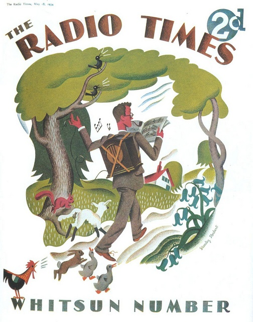 Radio Times Cover 1934-05-18 Hiking by combomphotos, via Flickr