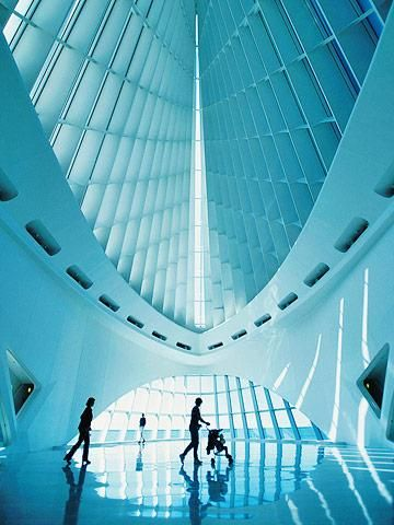 The Milwaukee Art Museum's stunning Quadracci Pavilion. See our visitors' guide to Milwaukee: http://www.midwestliving.com/travel/wisconsin/milwaukee/the-best-of-milwaukee-visitors-guide/