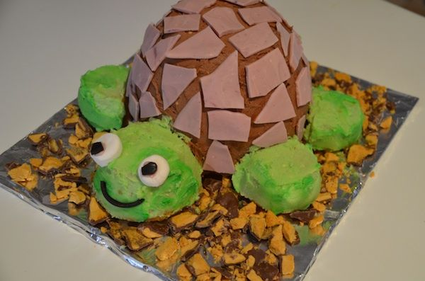 A gorgeous turtle birthday cake for my little gigglepop