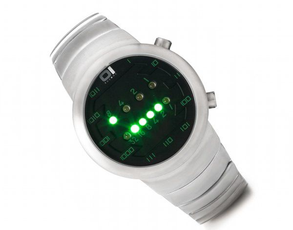 Binary wrist watch :)