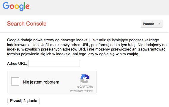 Sprawdź na czym polega dodawanie strony do wyszukiwarki Google.