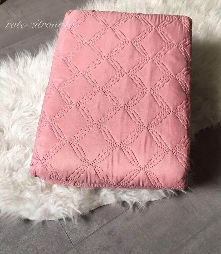 Tagesdecke Plaid Ouilt Bettüberwurf Decke Sofa Bettdecke 240x220 Bett Landhaus  | eBay