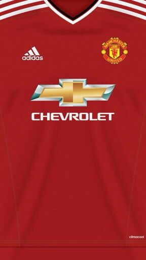 Man Utd home shirt (2015) wallpaper.