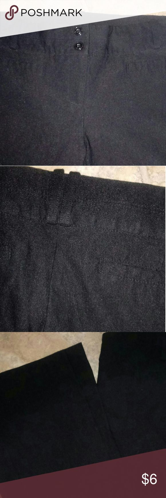 Black Stretch Dress Pants! 👻 Never worn. Very nice. Stretch material. Comfortable. Chelsea Pants Straight Leg