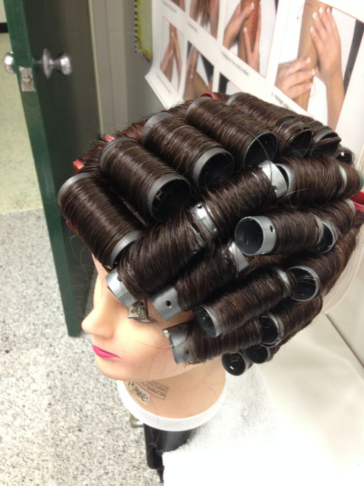 Full Head Roller Set Roller Set Pinterest Rollers