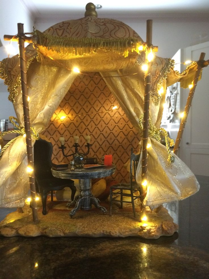 gypsy's tent in daylight