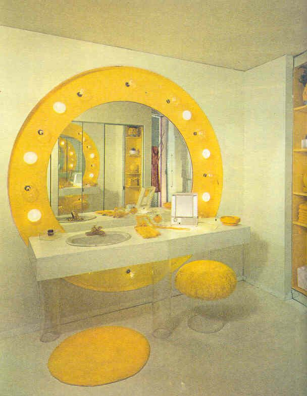 Those 70s Rooms In Orange And Yellow