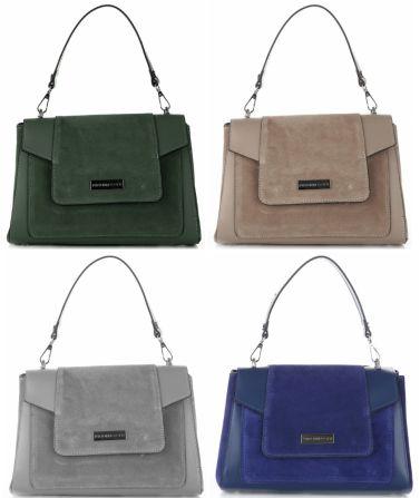 Klasický a mimořádně módní kufřík je novinkou značky Vittoria Gotti. Je vyrobena ze semišové kůže, což znamená, že se dokonale hodí do nejnovějších trendů. Tento model doporučujeme! Prohlédněte si všechny barvy ➡ http://bit.ly/2ArBXQU