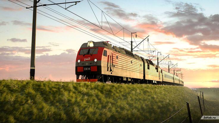 3DFAB. Modeling & render train 2ES4K