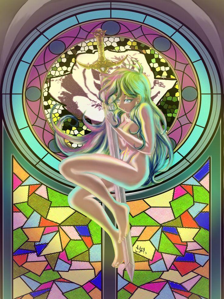 Sword maiden by NaniLam on deviantART