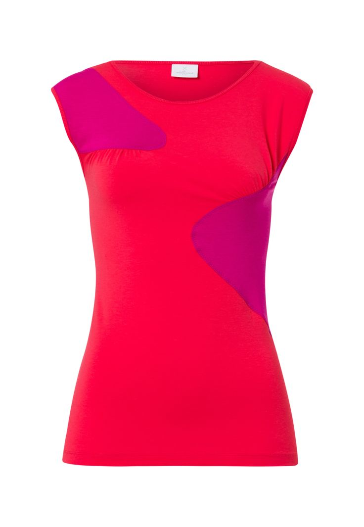 This Tomato/Bright Berry Swing Tank will brighten up those rainy autumn days for sure! #BeWellicious #AW15