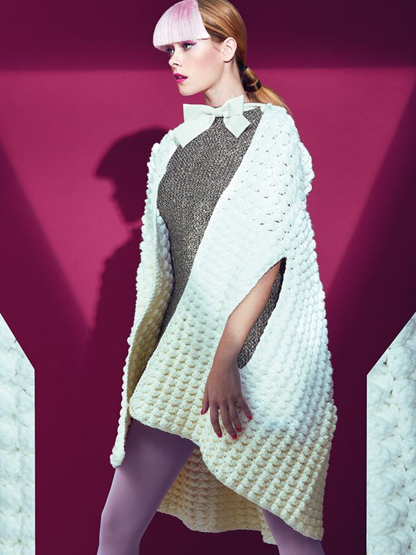 Knit Wit (ELLE Singapore Sept 14) on Behance