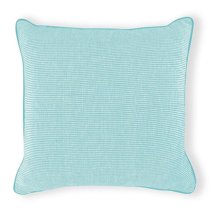 Maine Aqua Cushion 50cm